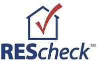 REScheck energy compliance software logo