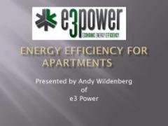 E3Power energy efficiency for apartments PDF