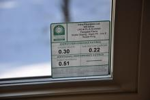 eletricity usage window label